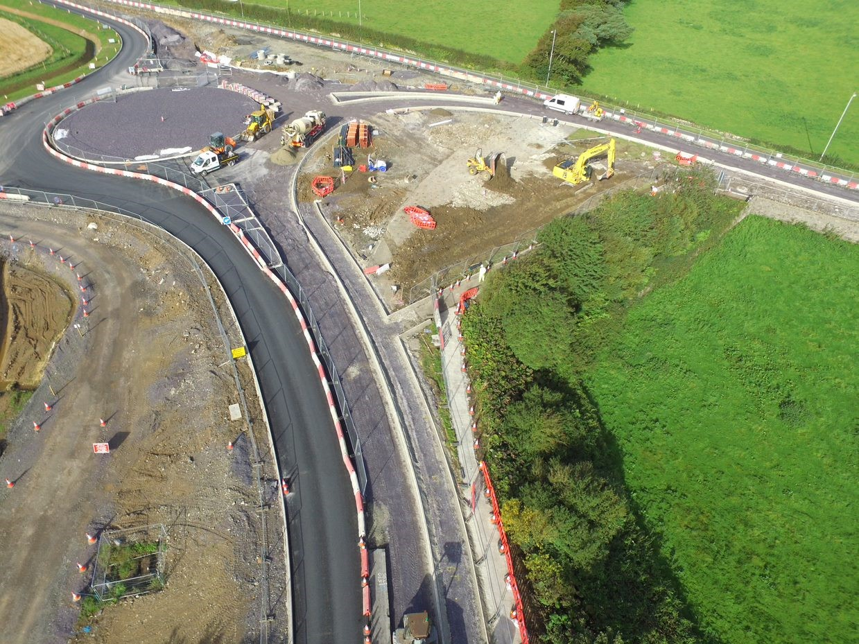 alun griffiths road project