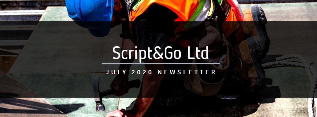 Script&Go July Newsletter